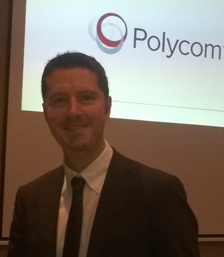Intervista a Andrea Recupero, Business Development Manager Polycom