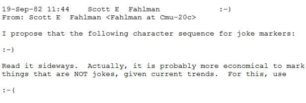 Il sorriso di Fahlman, l'inventore delle Emoticons