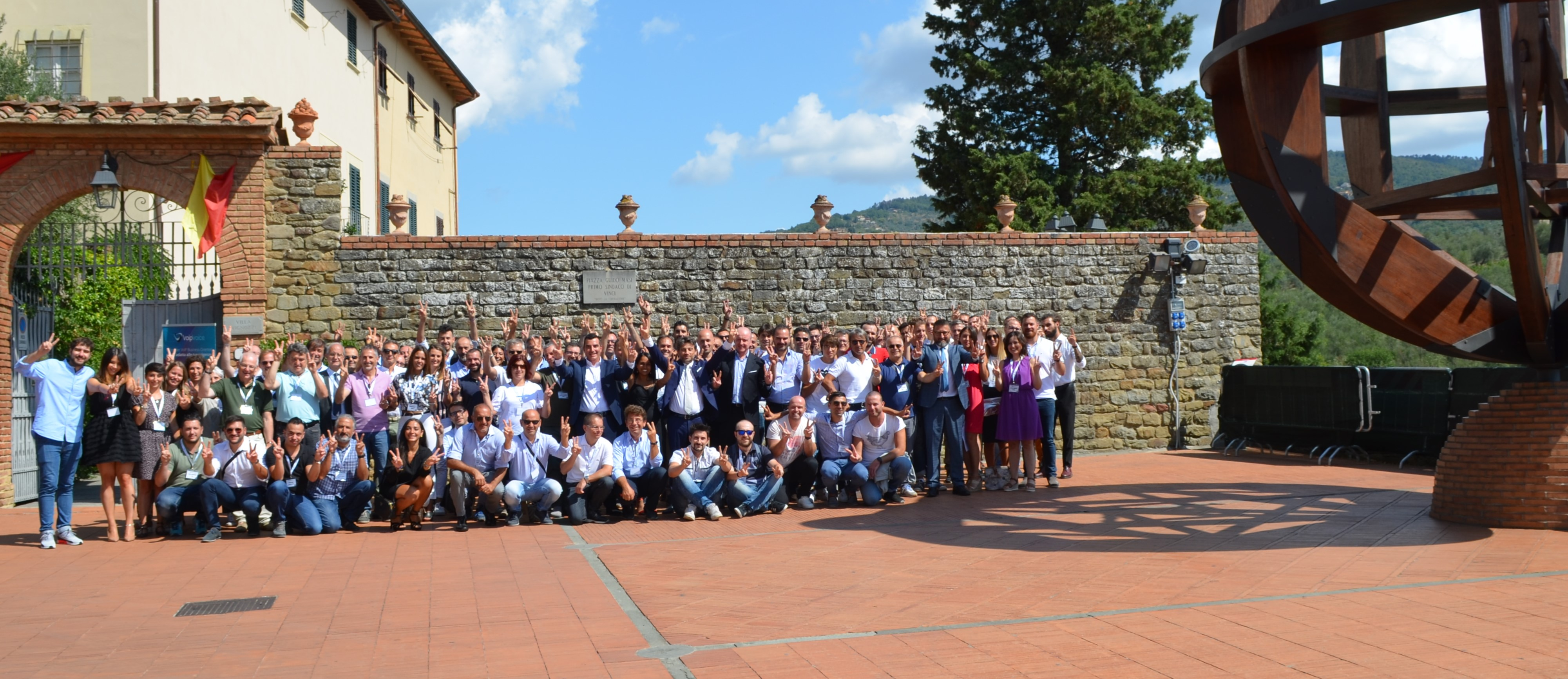 Nel segno di Leonardo da Vinci: 2° Top Partner Meeting VoipVoice