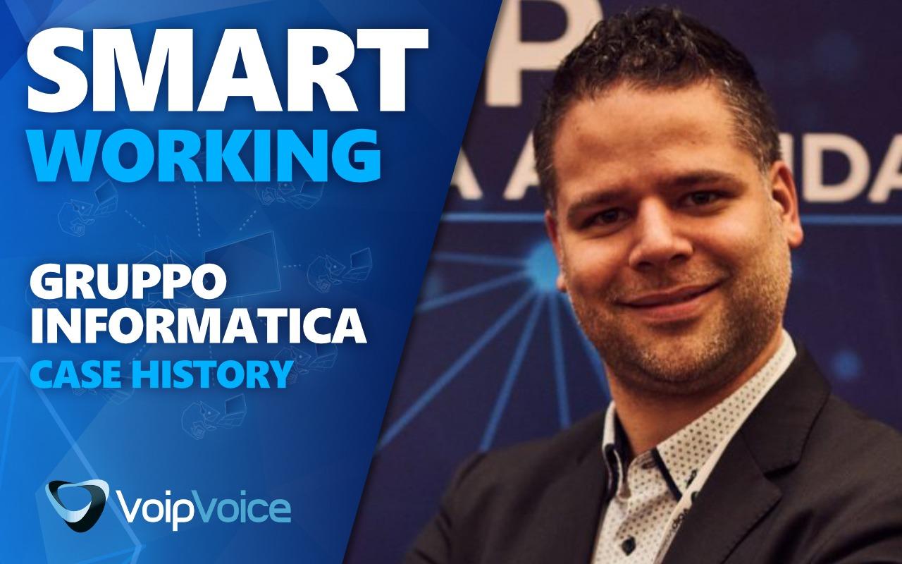 Case History Smart Working | La parola a Gruppo Informatica