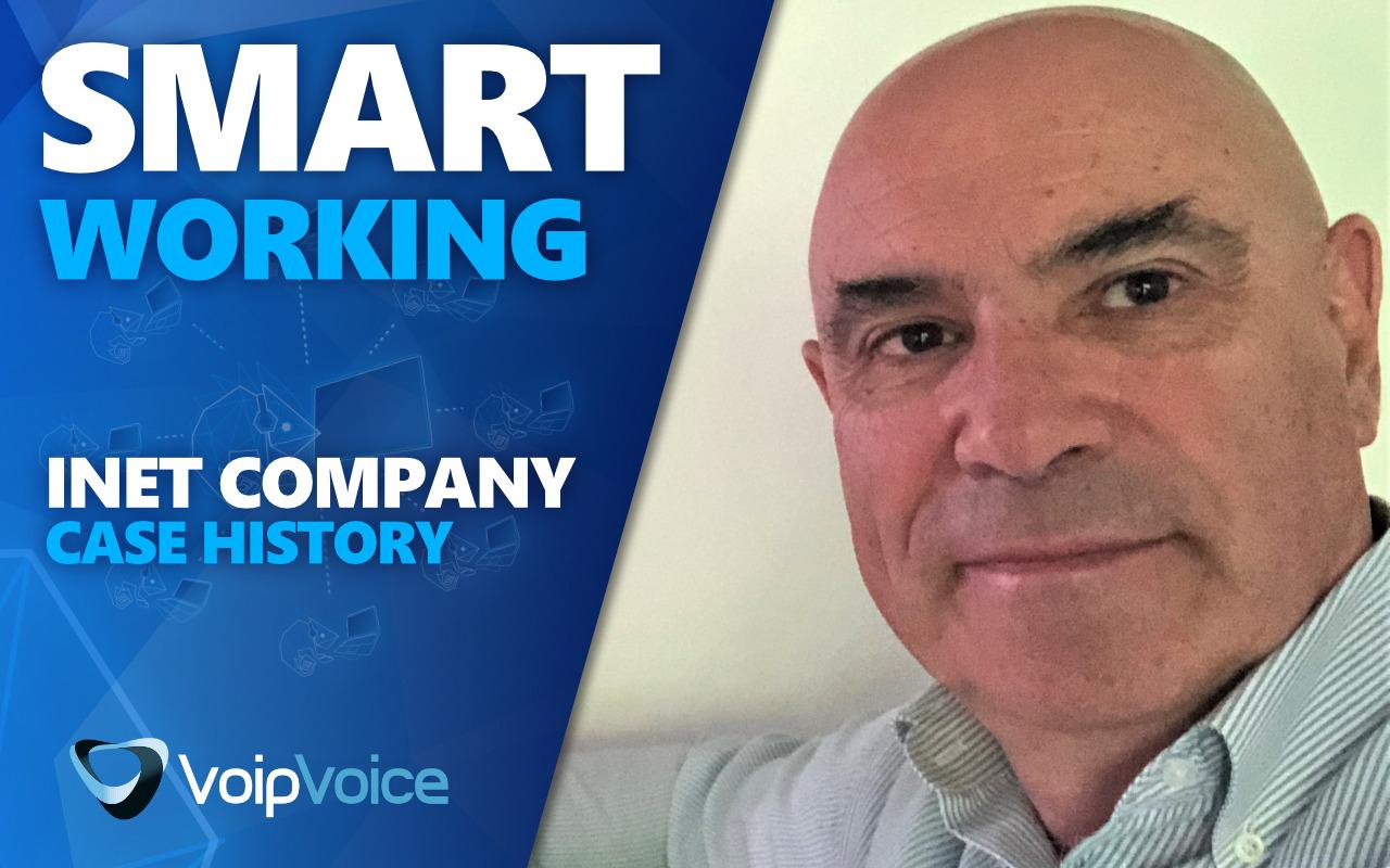 Case History Smart Working | La parola a Inet Company