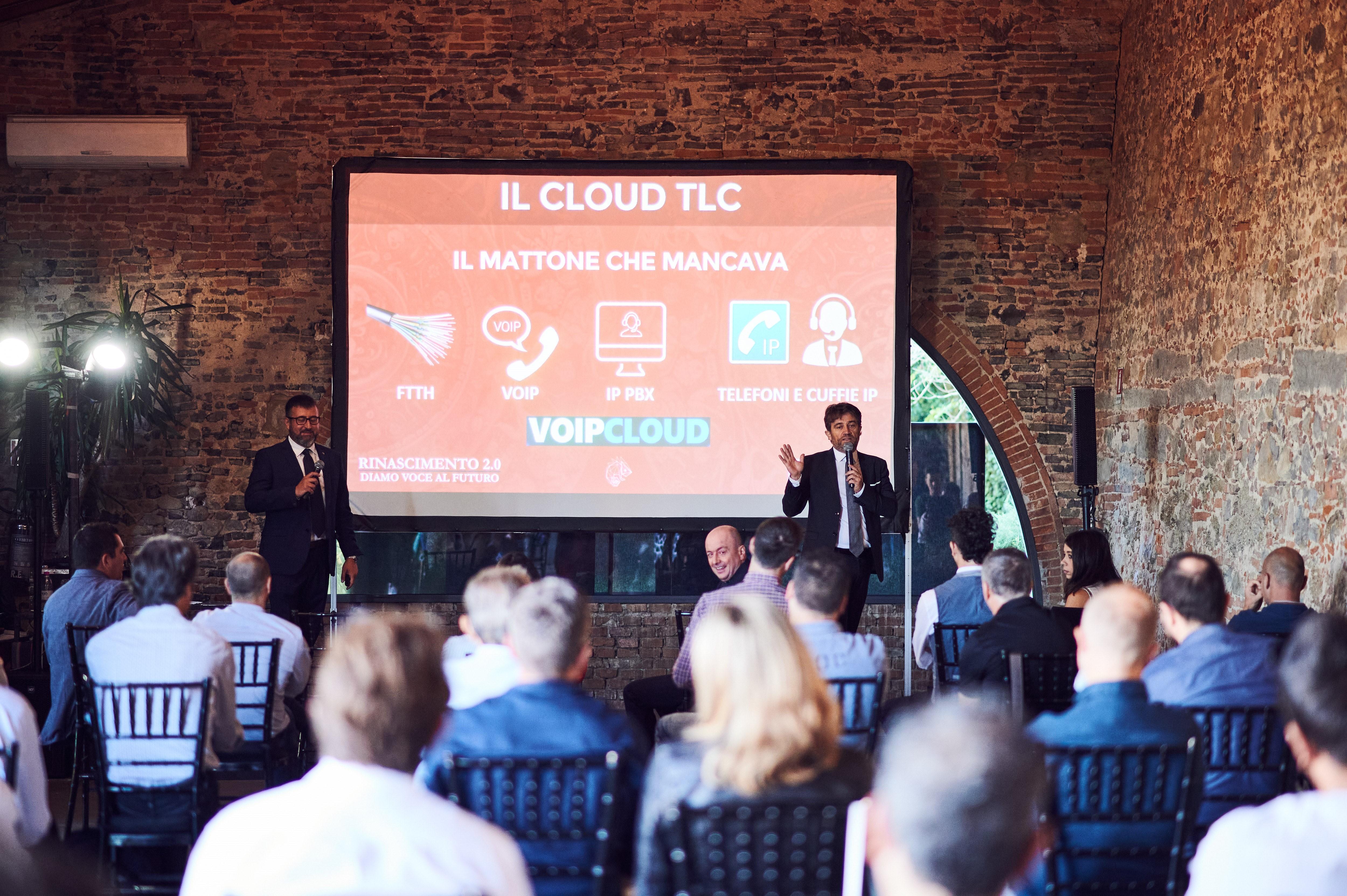 VOIPCLOUD: il primo Cloud per TLC