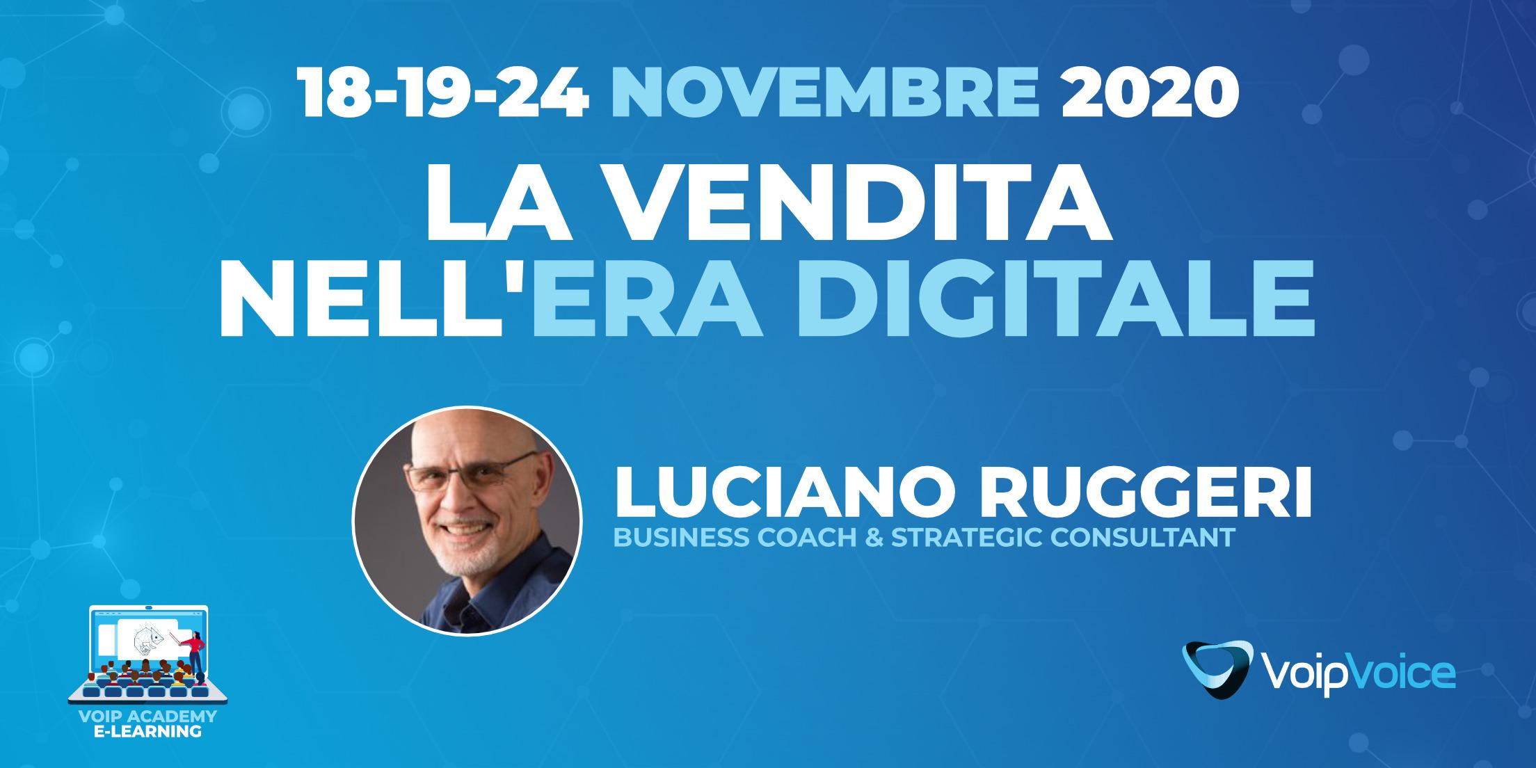 Come essere un bravo venditore?   Intervista a Luciano Ruggeri