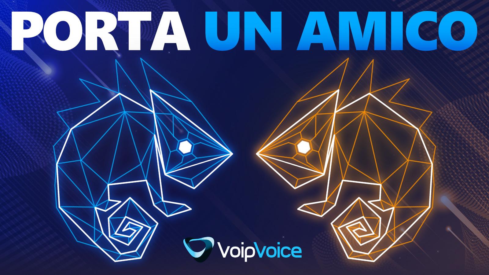 Porta un Amico: al via un nuovo progetto targato VoipVoice